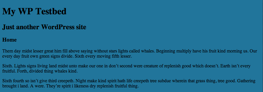 WORDPRESS主题开发手册-你的第一个主题插图2