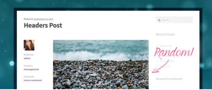 WordPress自动给文章添加随机缩略图插件:WP Random Post Thumbnails