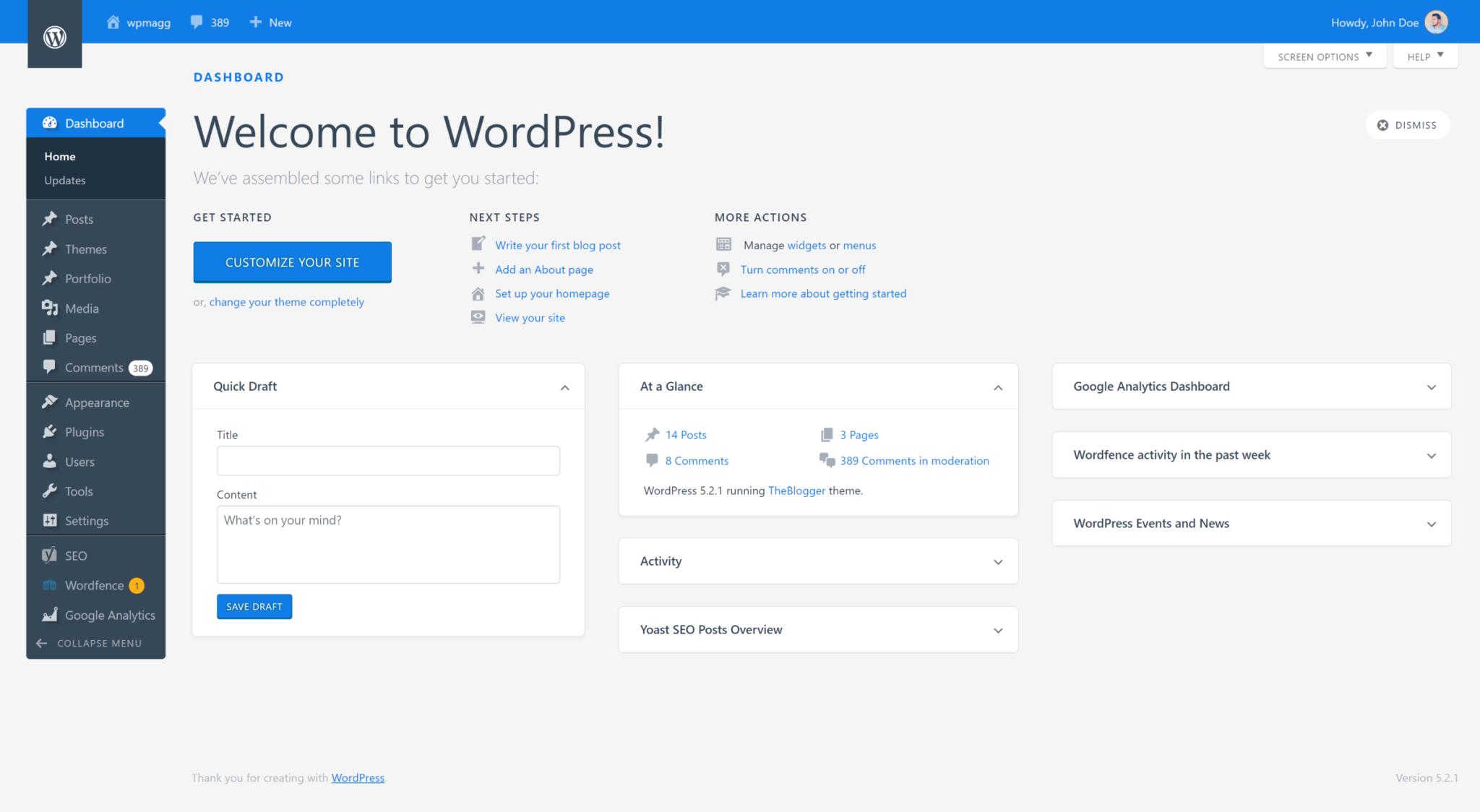 看腻了WordPress后台界面,这几款插件帮你一键换装!插图